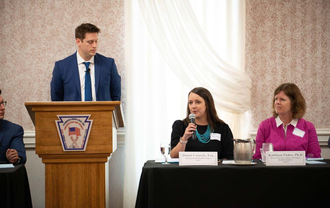PHLP attorney Danna Casserly at the Vision Nursing Summit
