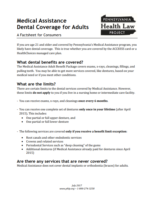 dental assistance factsheet updated 7 2017 thumbnail png