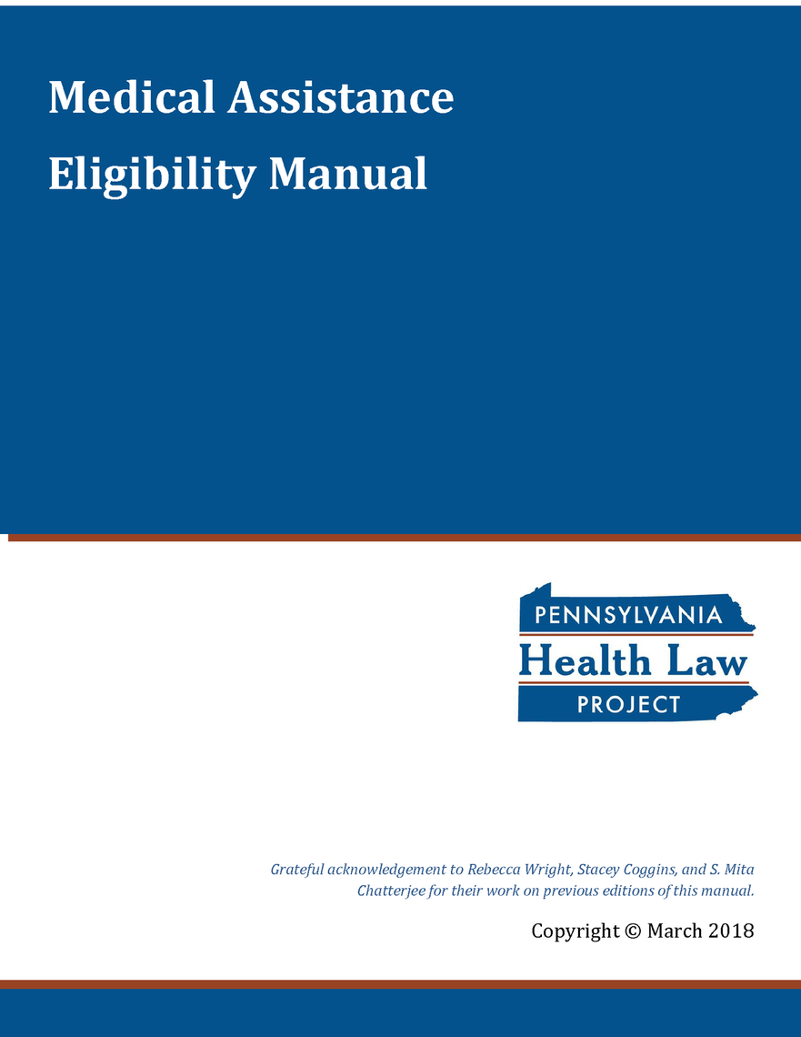 ma eligibility manual 2018 thumbnail