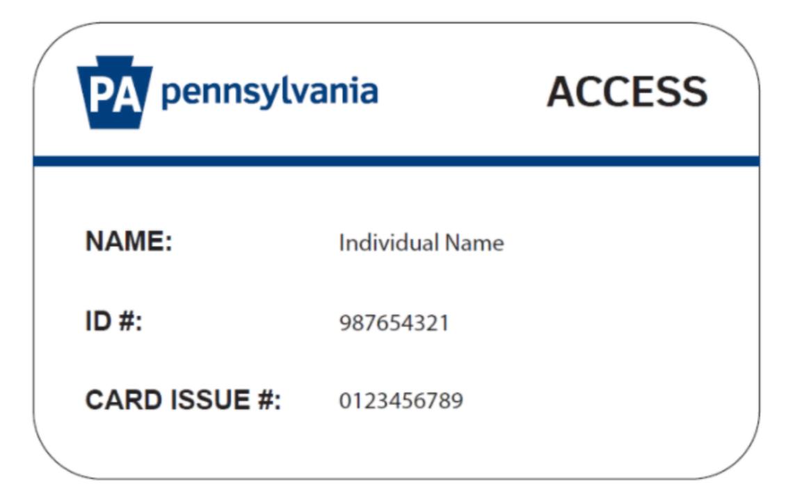 new access card
