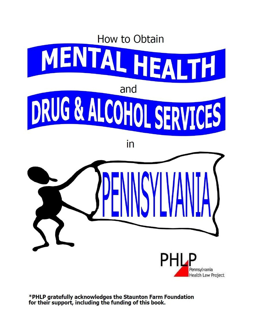 how to obtain mental health and drug and alcohol services in pa